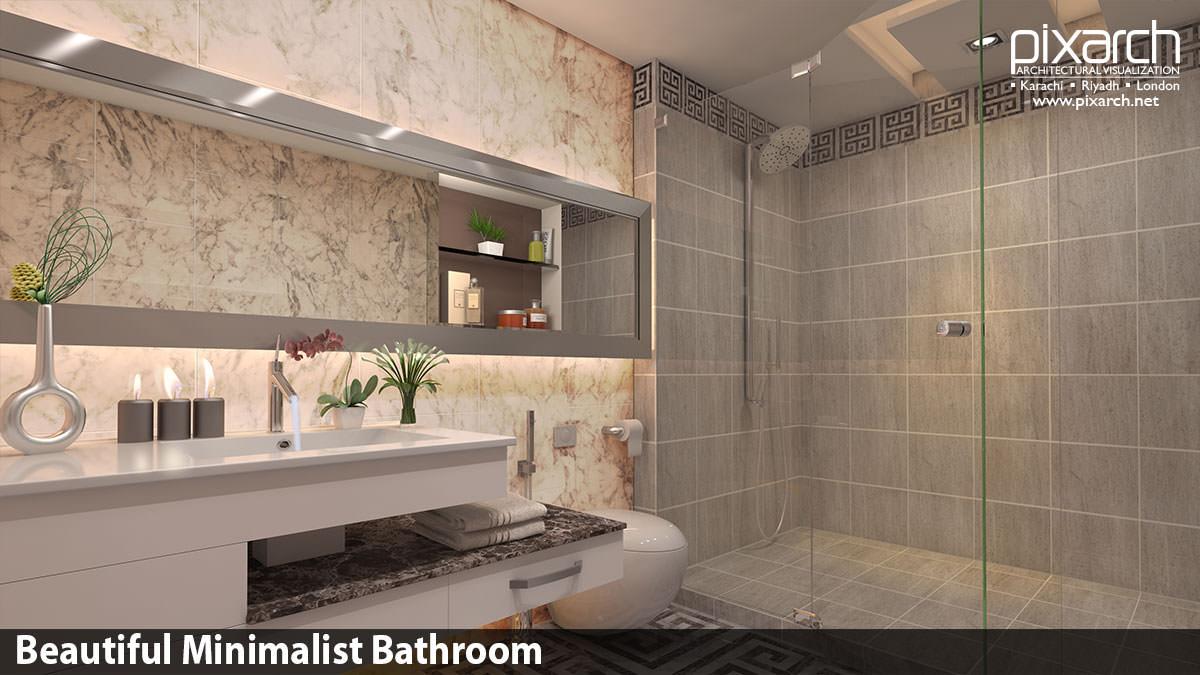 Beautiful-Minimalist-Bathroom