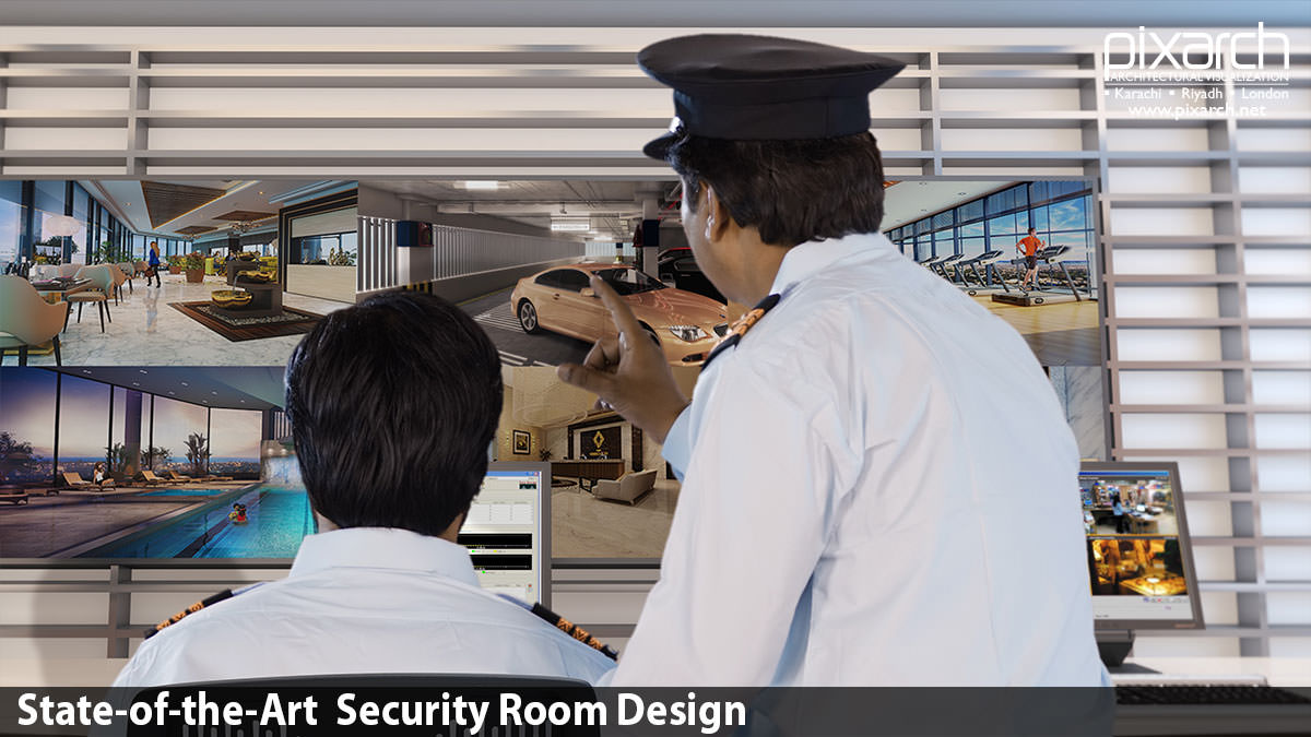 State-of-the-Art-Security-Room-Design