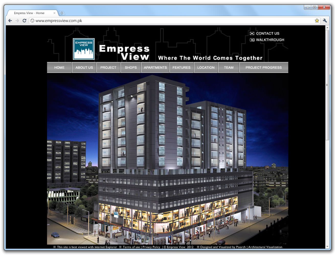empress-view-website