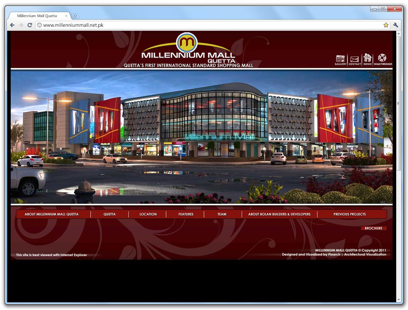 millennium-website