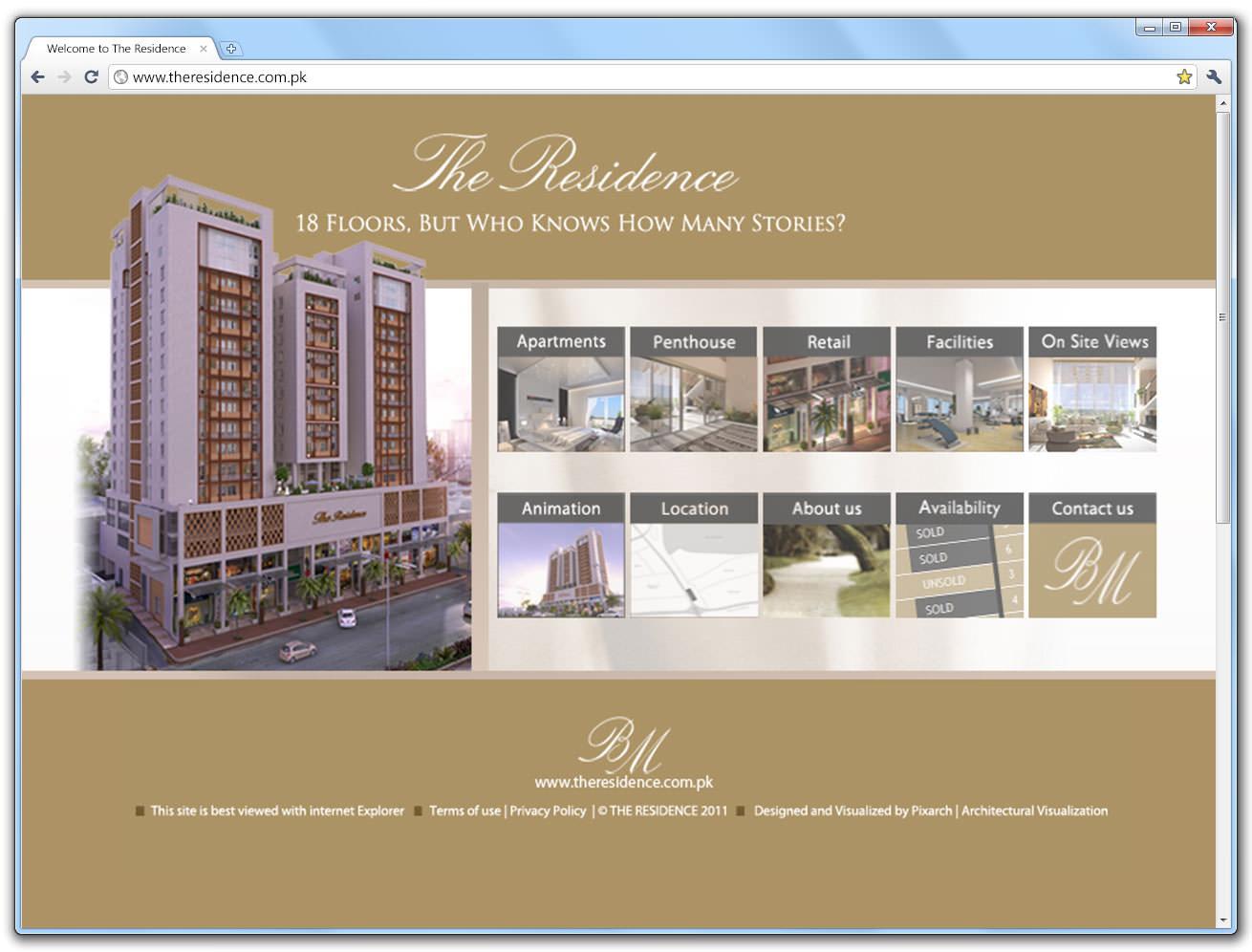 the-residence-website