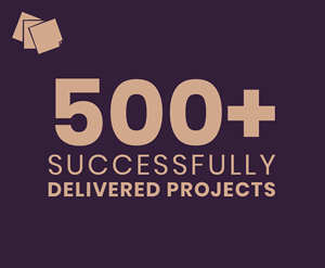 500+ delivered projects