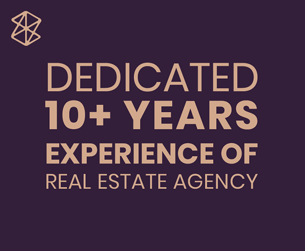 10+ years experience of real estate