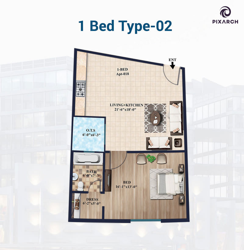 1-Bed-Type-02