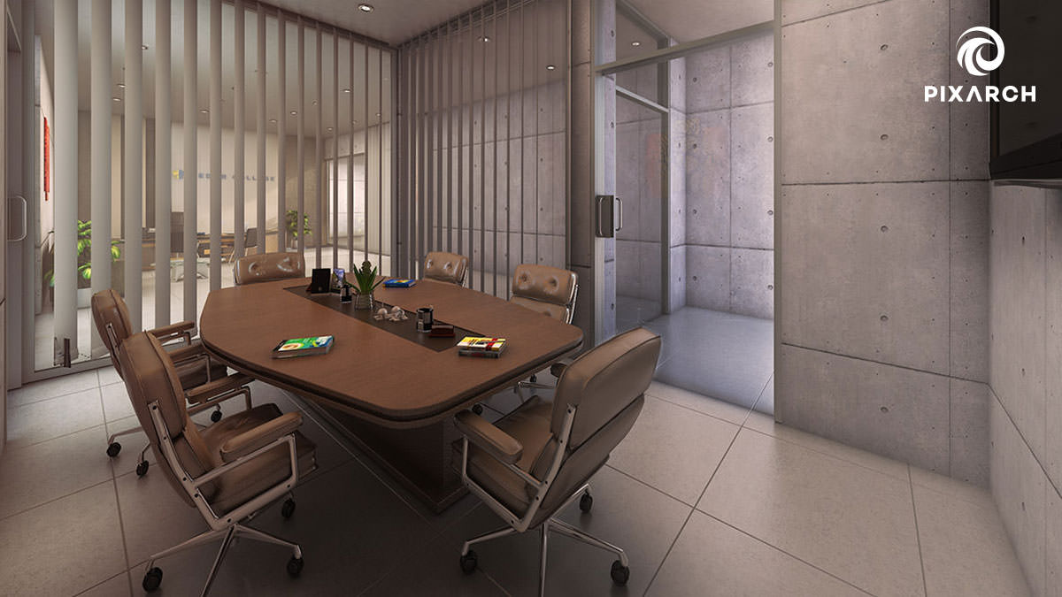 Cedar College Conference room | Pixarch