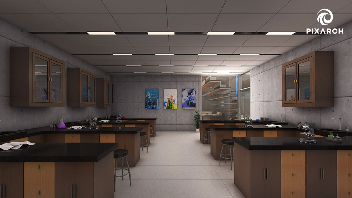 3d Cedar College | Pixarch
