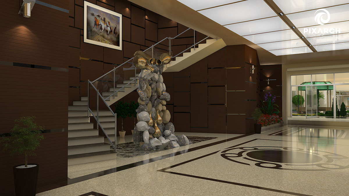 lobby-stair