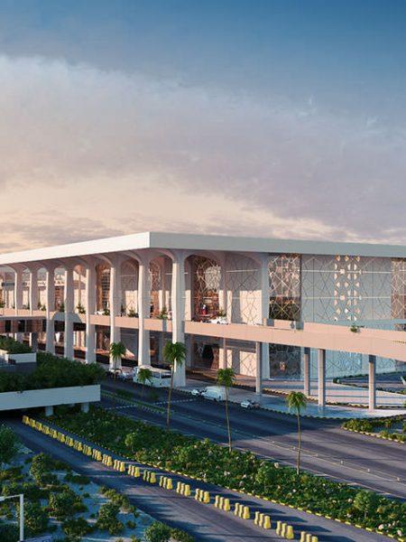 King Fahd International Airport 3D view