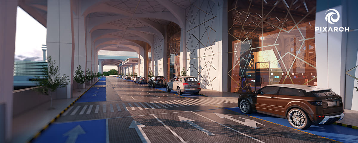 king fahad international airport | Pixarch