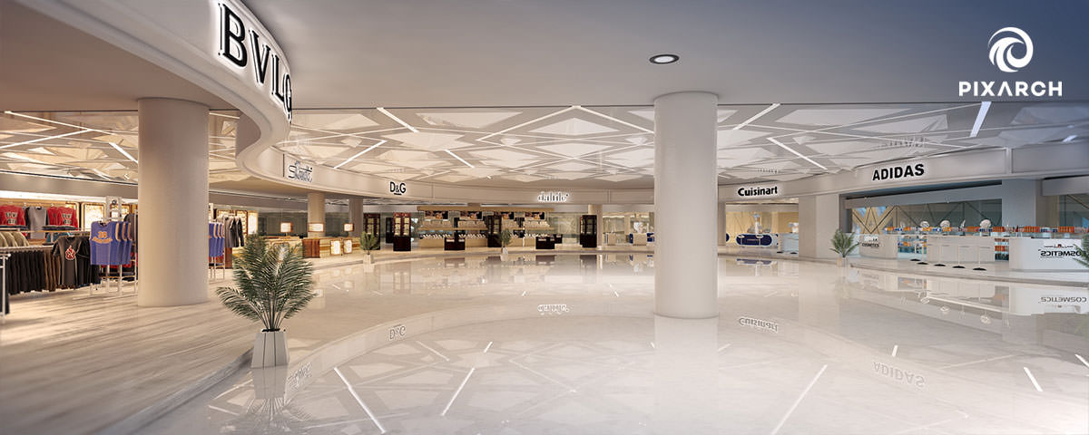 king fahad international airport inside | Pixarch
