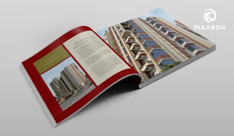 trident residence 3d visual design
