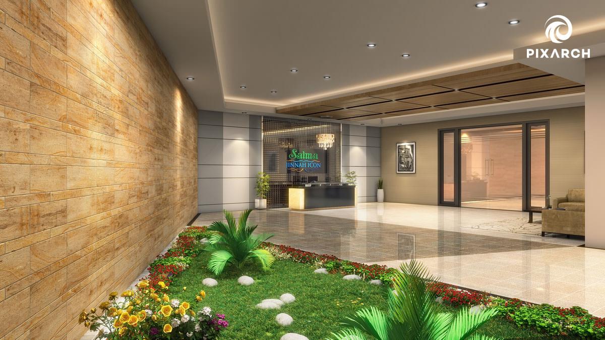 saima jinnah icon 3d view | Pixarch