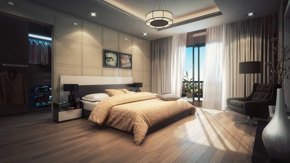 residential 3d interior view | Pixarch