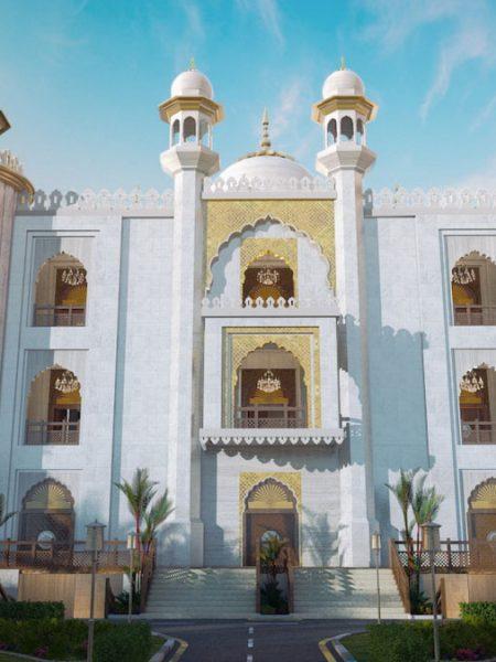 Masjid-e-taqwa 3d view | Pixarch
