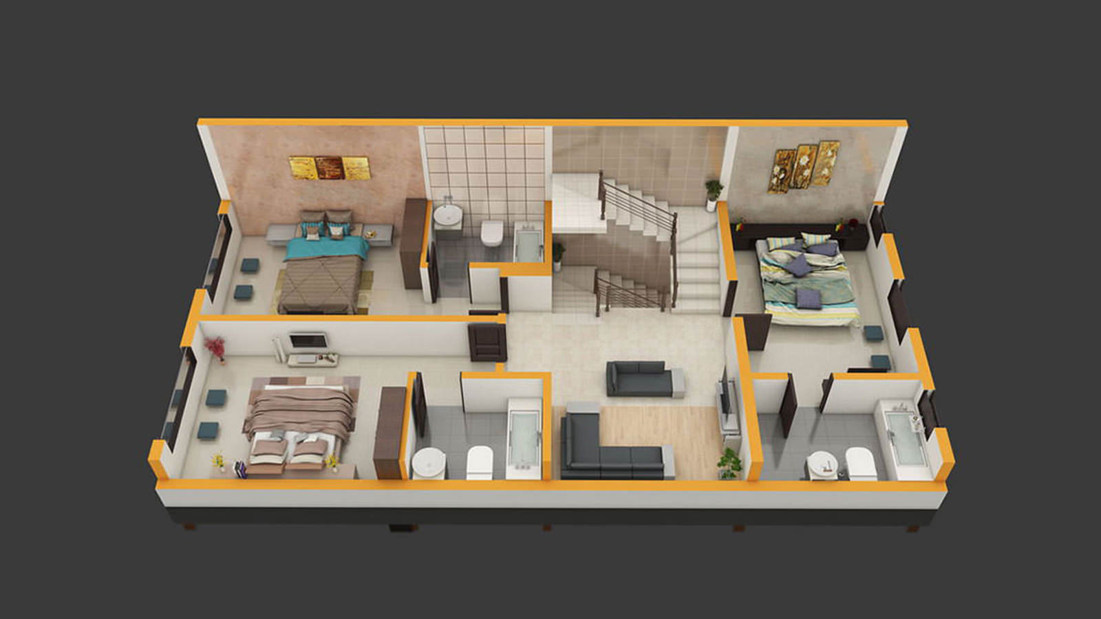 3d Uplifts The Floor Plan To Reality
