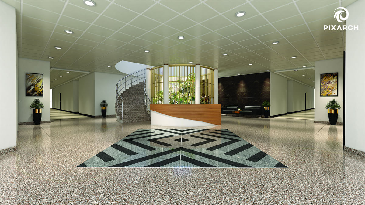 paragon tower 3d interior view