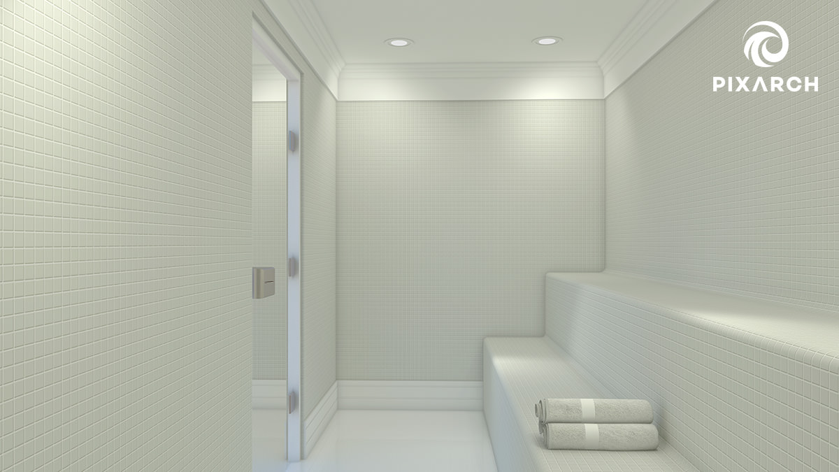winston mall & residencia 3d interior view