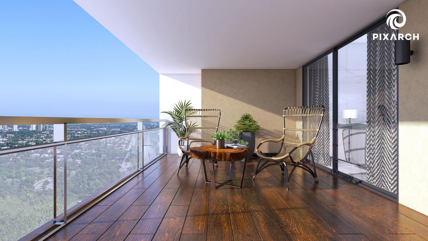 shayan grand city 3d interior view