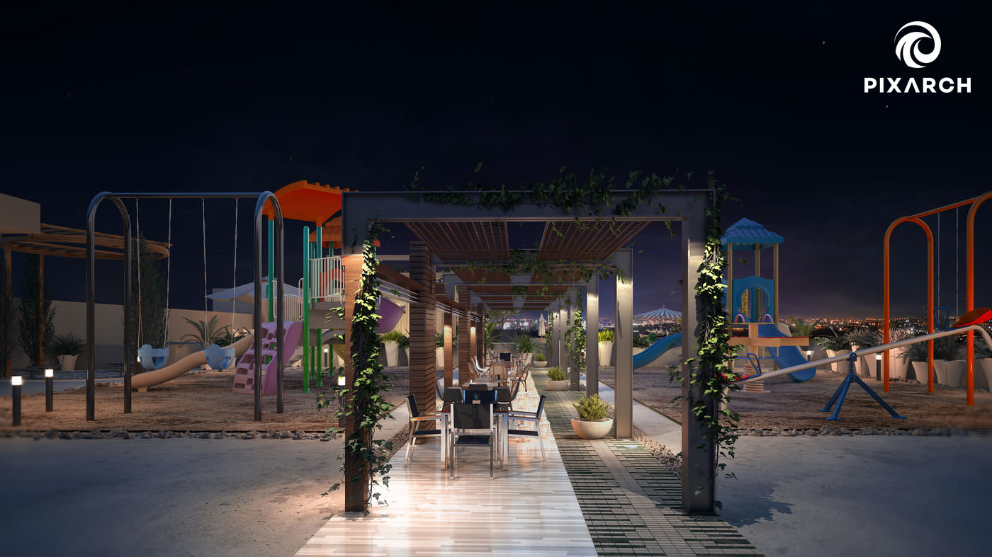 shayan grand city 3d play area view
