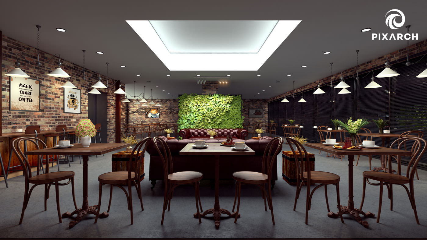 j7 global 3d restaurant view