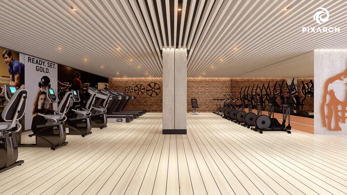 j7 global 3d gym view