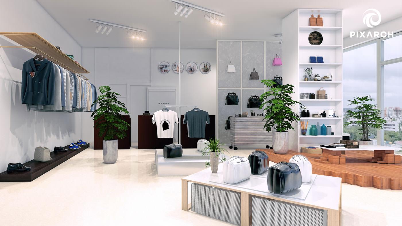 j7 global 3d shop view
