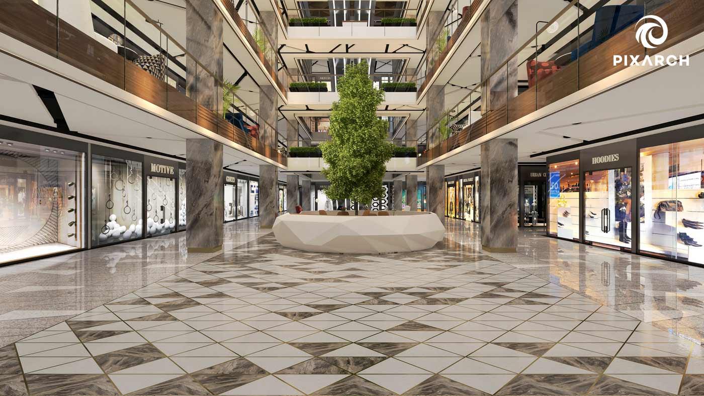 j7 global 3d mall view