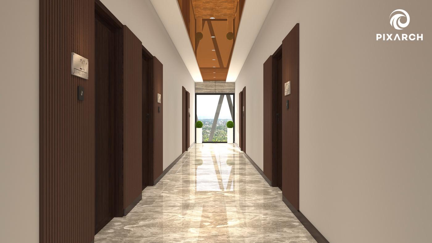 b3 heights corridor