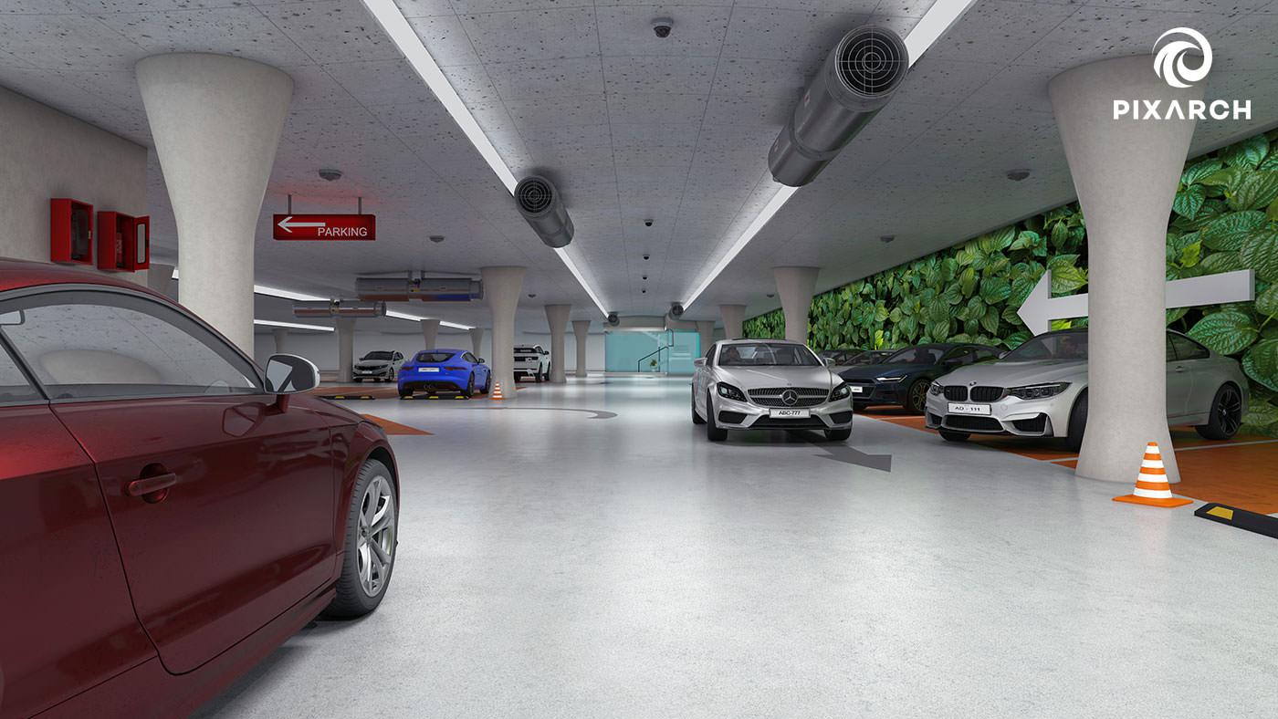 titan one 3d parking view