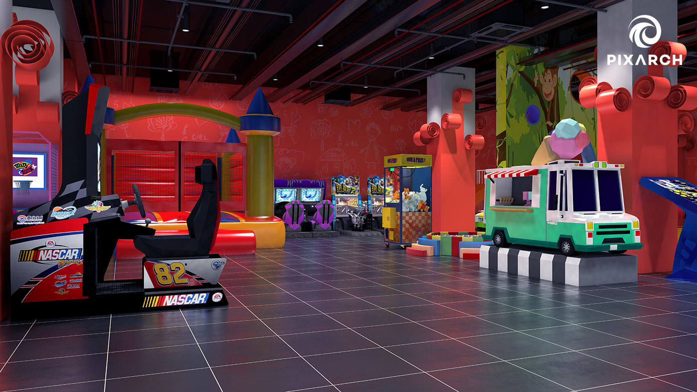 titan one 3d play area view