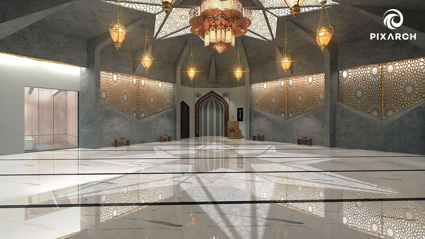 titan one 3d mosque view