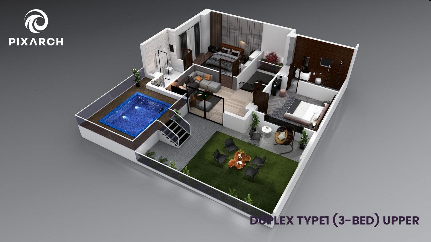 la-vista-world-duplex-type-1-3-bed-upper