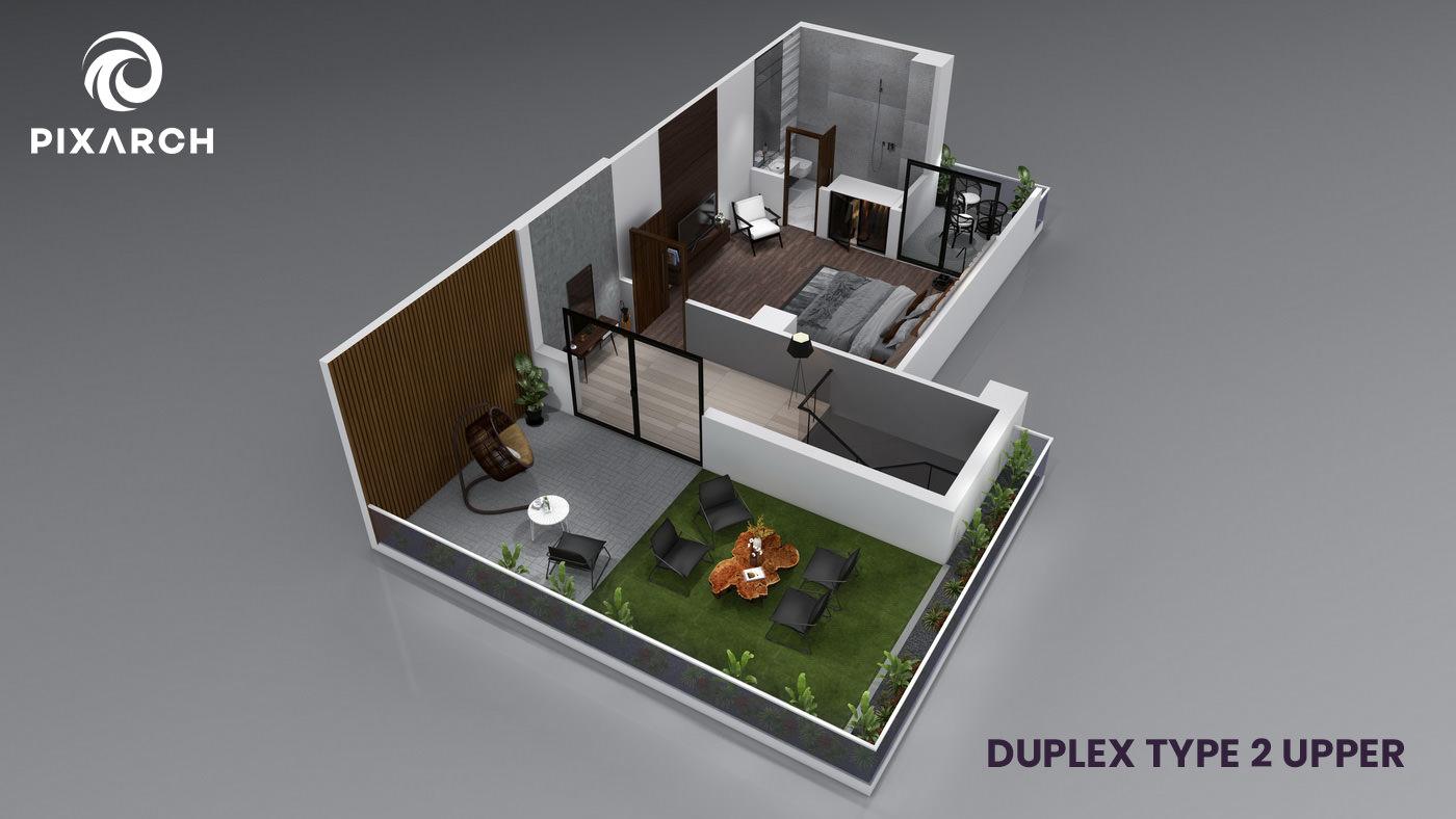 la-vista-world-duplex-type-2-upper