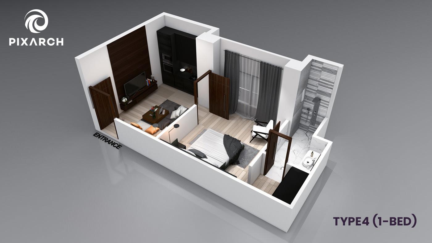 la-vista-world-type-4-1-bed